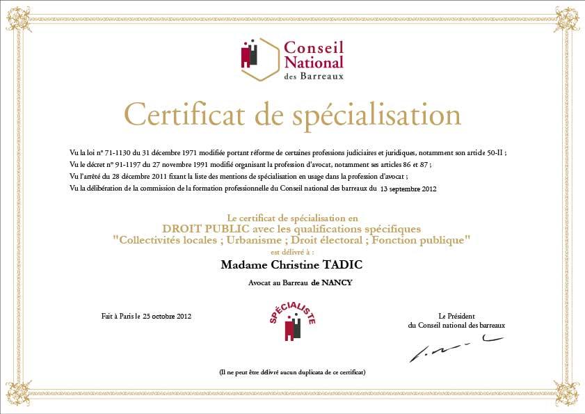 Certificat-de-specialisation-en-Droit-public-Christine-Tadic